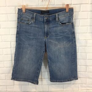 Banana Republic Factory Denim Bermuda Shorts